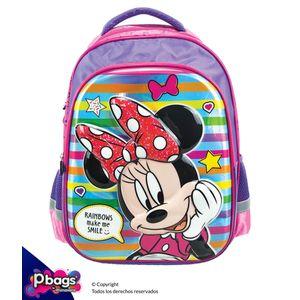 "Morral-165""-Backpack-Minnie-Metalizado"