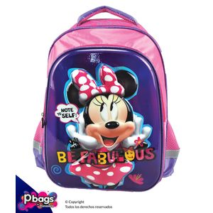"Morral-165""-Backpack-Minnie-Relieve"