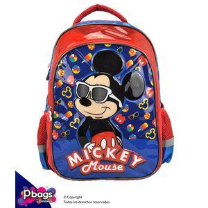 """Morral-165""""-Backpack-Mickey-Metalizado"""