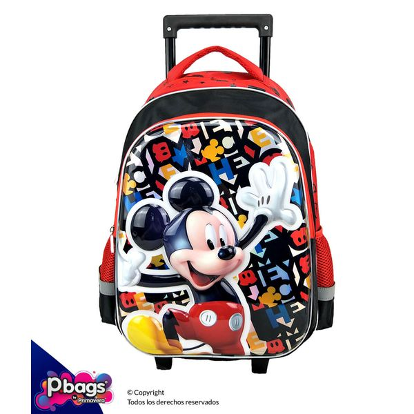 """Morral-165""""-Trolley-Mickey-Realce"""