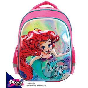 """Morral-165""""-Backpack-Princesas-Relieve"""
