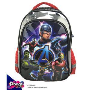 "Morral-165""-Backpack-Avengers-Metalizado"