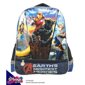 "Morral-165""-Backpack-Avengers-Bolsillo"