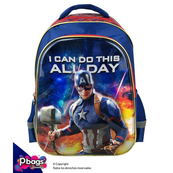"""Morral-165""""-Backpack-Avengers-Realce"""