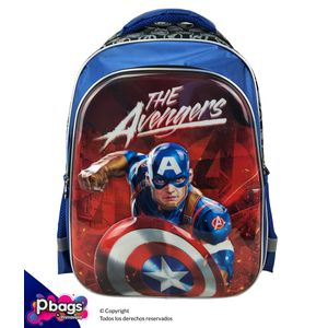 "Morral-165""-Backpack-Avengers-Relieve"