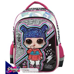 "Morral-165""-Backpack-LOL-Surprise-Metalizado"