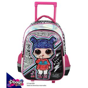 "Morral-165""-Trolley-LOL-Surprise-Metalizado"