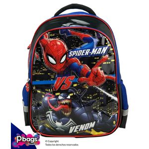 """Morral-165""""-Backpack-Spiderman-Realce"""