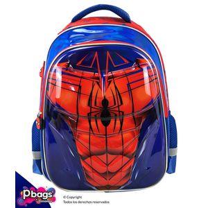 """Morral-165""""-Backpack-Spiderman-Metalizado"""