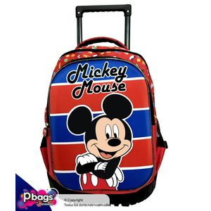 Morral-Super-Trolley-Mickey-Rojo