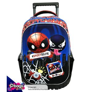 Morral-Super-Trolley-Spiderman-Azul