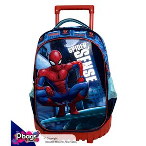 Morral-Super-Trolley-Spiderman-Azul-Claro