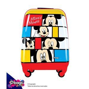 """Maleta-Mickey-16""""-Trolley-Disney"""