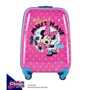 """Maleta-Minnie-16""""-Trolley-Disney"""