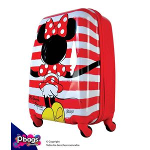 """Maleta-Minnie-Classic-20""""-Trolley-Disney"""