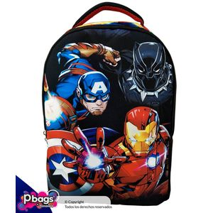 Morral-Junior-Backpack-Marvel-Capitan---Ironman