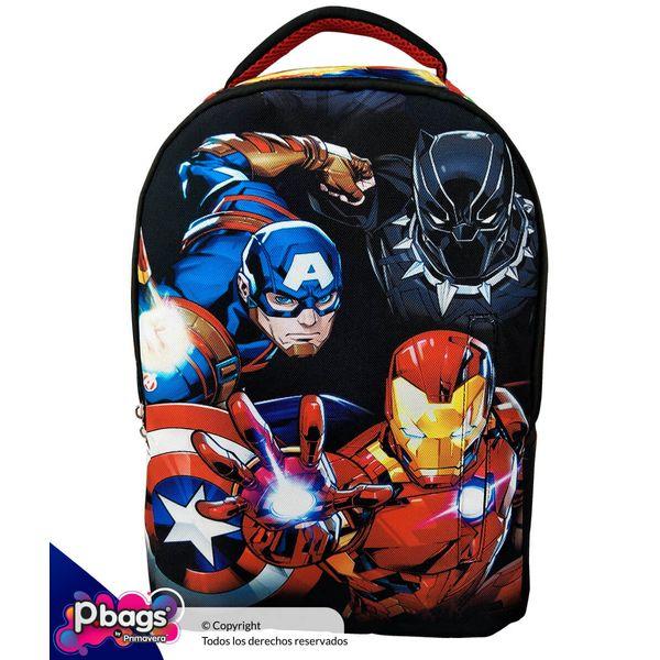 Morral-Junior-Backpack-Marvel-Capitan---Ironman