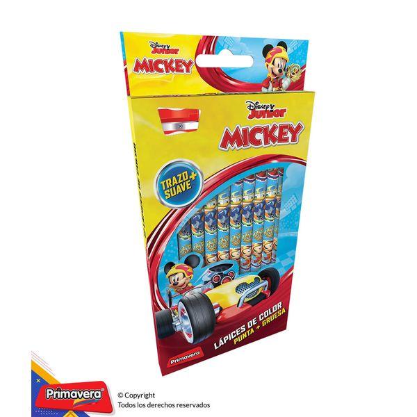 Colores-Una-Punta-Disney-Mickey