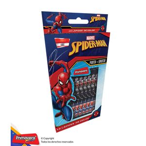 Colores-Una-Punta-Marvel-Spiderman