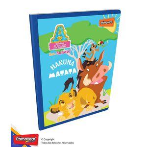 Cuaderno-Pre-School-A-Disney-Lion-King