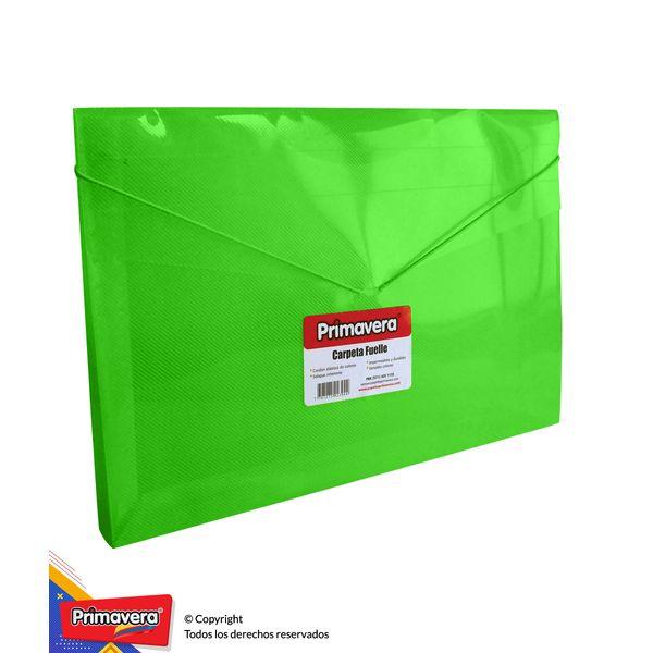Carpeta-Plastica-Fuelle-Verde
