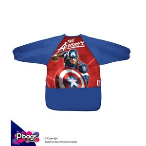 Delantal-Con-Mangas-Avengers-Capitan-America