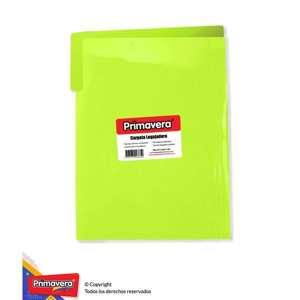 Carpeta-Plastica-Legajadora-Carta-Verde-Limon