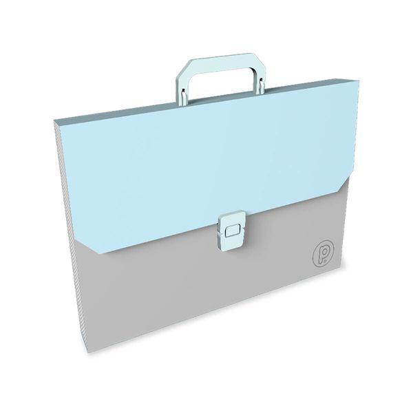 Maletin-Plastico-Unicolor-Azul-Pastel