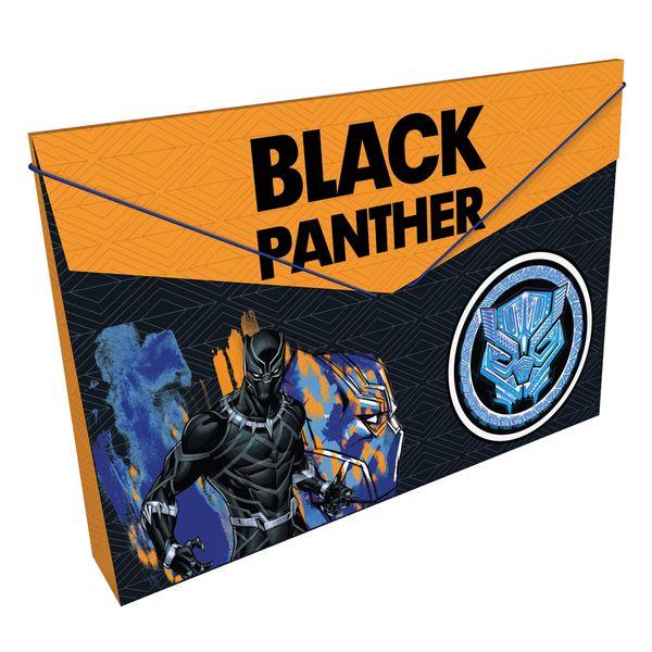 Carpeta-Plastica-Fuelle-Avengers-Naranja-y-Negro-Primavera