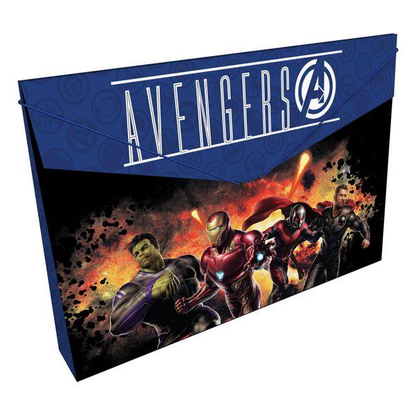 Carpeta-Plastica-Fuelle-Avengers-Negro-y-Azul-Oscuro-Primavera