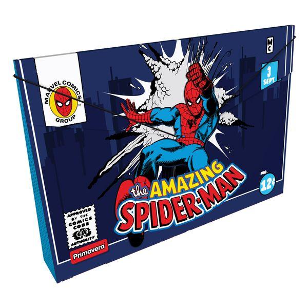 Carpeta-Plastica-Fuelle-Marvel-Comics-Azul-Oscuro-Primavera