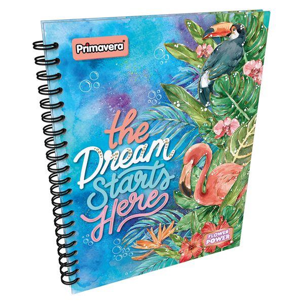 Cuaderno-Argollado-Pasta-Dura-Grande-Flower-Power-Azul-y-Verde--