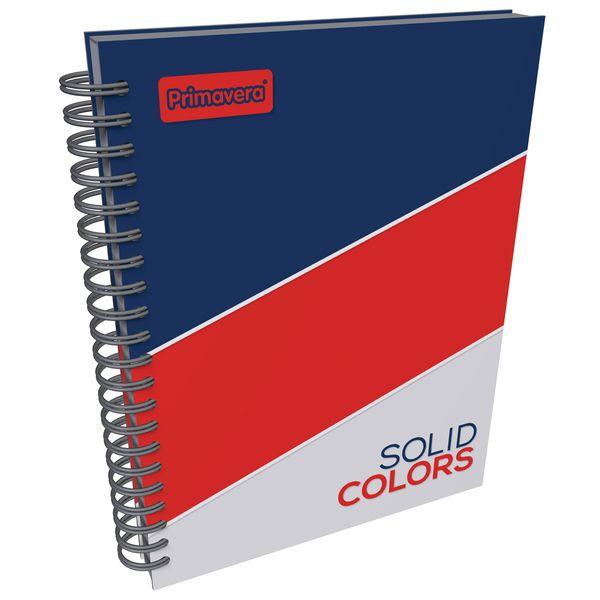 Cuaderno-Argollado-Pasta-Dura-Grande-Solid-Colors-Azul-y-Rojo