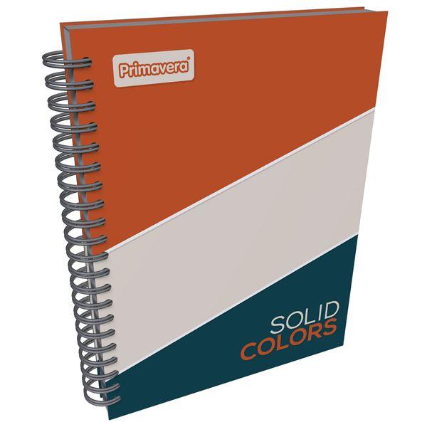 Cuaderno-Argollado-Pasta-Dura-Grande-Solid-Colors-Naranja-y-Beige