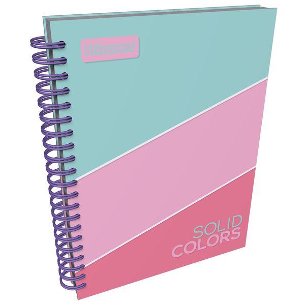 Cuaderno-Argollado-Pasta-Dura-Grande-Solid-Colors-Verde