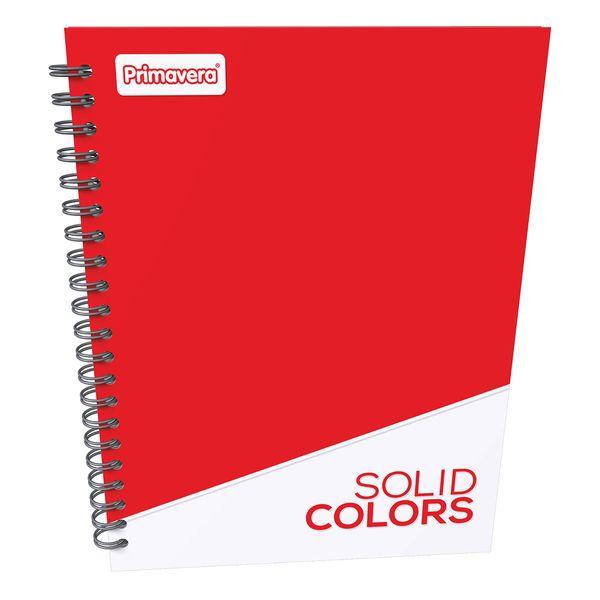 Cuaderno-Argollado-Pasta-Dura-Grande-Unicolor-Rojo