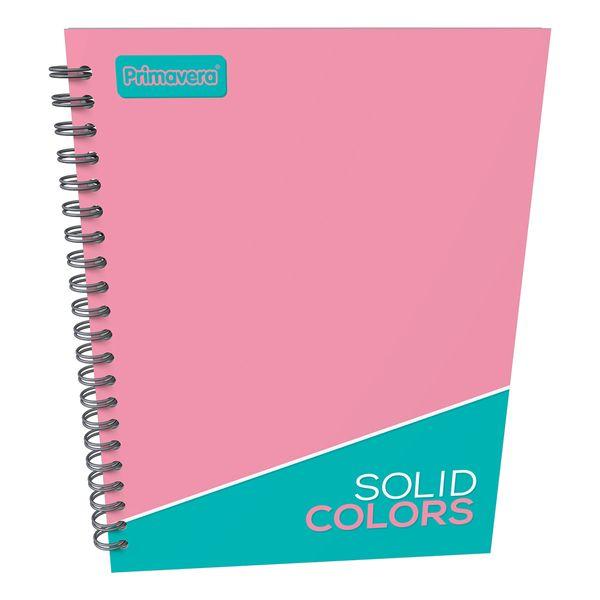 Cuaderno-Argollado-Pasta-Dura-Grande-Unicolor-Rosado