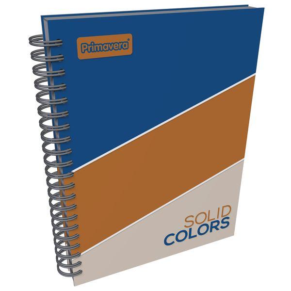 Cuaderno-Argollado-Pasta-Dura-Materias-Grande-Solid-Colors-Azul-y-Cafe