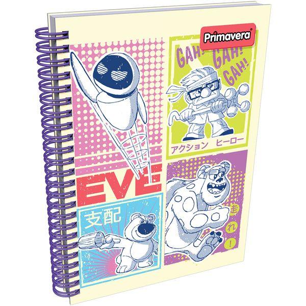 Cuaderno-Argollado-Pasta-Dura-Pixar-Verde-Claro-