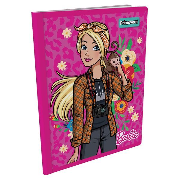 Cuaderno-Cosido--Barbie-Fucsia-