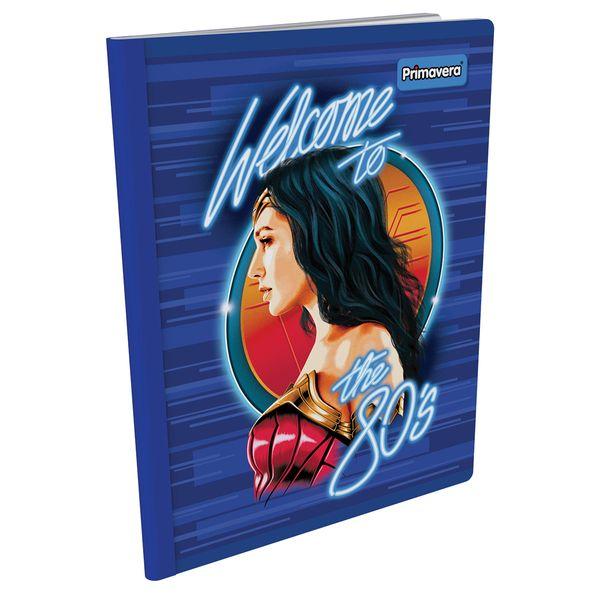 Cuaderno-Cosido--Mujer-Maravilla-Azul-Oscuro-y-Rojo-