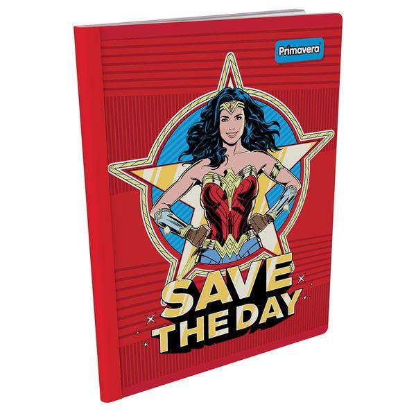 Cuaderno-Cosido--Mujer-Maravilla-Rojo-