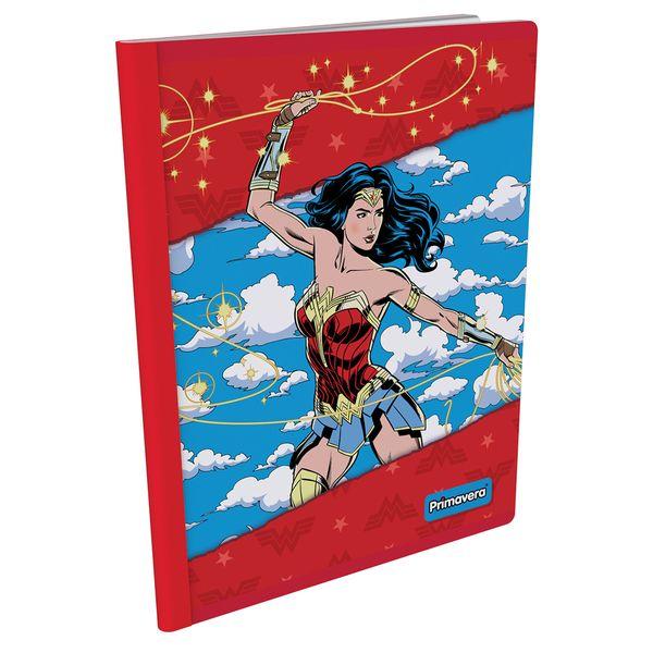 Cuaderno-Cosido--Mujer-Maravilla-Rojo-y-Azul-