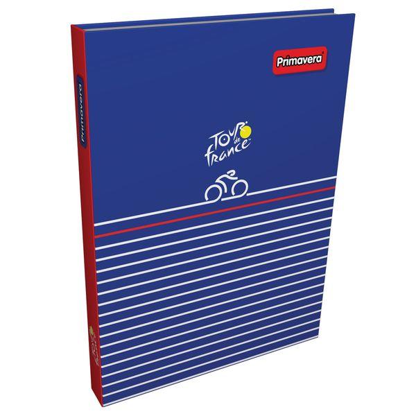 Cuaderno-Cosido-Pasta-Dura-Tour-de-Francia-Azul-Oscuro