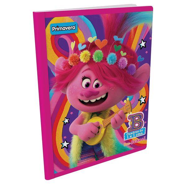 Cuaderno-Cosido-Pre-School-B-Trolls-Rosado-