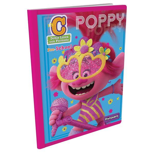 Cuaderno-Cosido-Pre-School-C-Trolls-Rosado-
