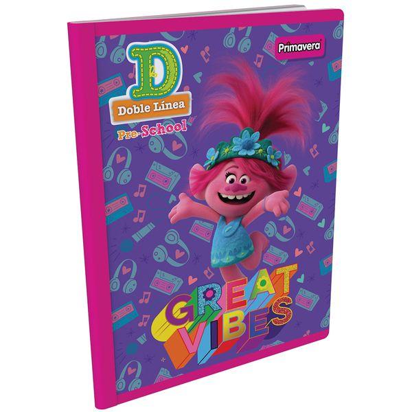 Cuaderno-Cosido-Pre-School-D-Trolls-Morado-