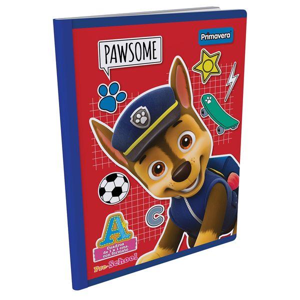 Cuaderno-Cosido-Pre-School-A-Paw-Patrol-Rojo-Oscuro-