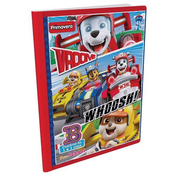 Cuaderno-Cosido-Pre-School-B-Paw-Patrol-Rojo-Claro-