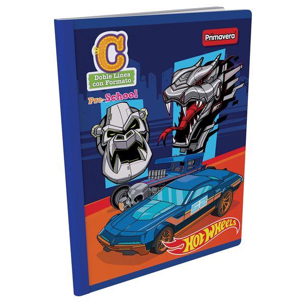 Cuaderno-Cosido-Pre-School-C-Hot-Wheels-Azul-Oscuro-